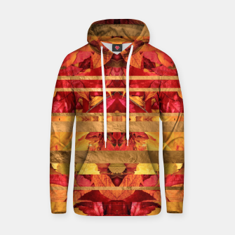 Autumn moods Cotton hoodie thumbnail image