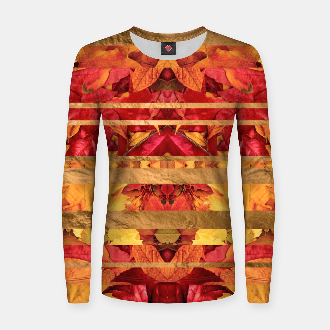 Image of Autumn moods Woman cotton sweater - Live Heroes