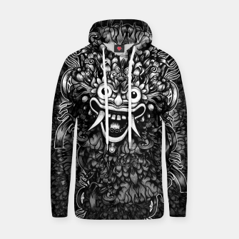 Thumbnail image of Bali Mask Cotton hoodie, Live Heroes
