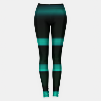 Thumbnail image of green lines Leggings, Live Heroes