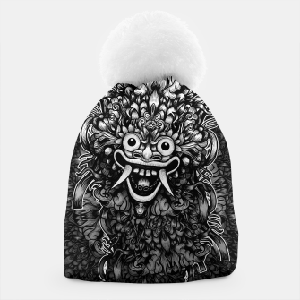Thumbnail image of Bali Mask Beanie, Live Heroes