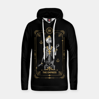 Thumbnail image of The Empress III Tarot Card Cotton hoodie, Live Heroes