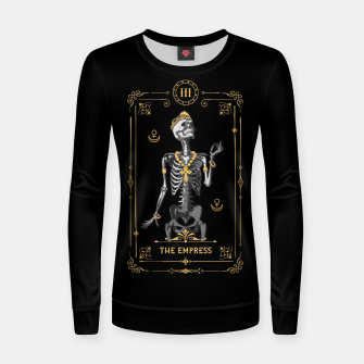 Thumbnail image of The Empress III Tarot Card Woman cotton sweater, Live Heroes