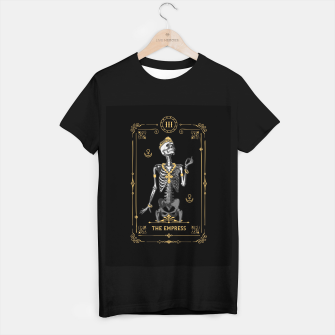 Thumbnail image of The Empress III Tarot Card T-shirt regular, Live Heroes