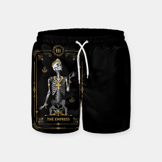 Thumbnail image of The Empress III Tarot Card Swim Shorts, Live Heroes