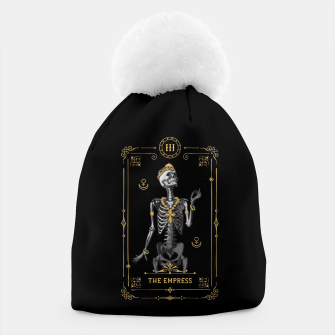 Thumbnail image of The Empress III Tarot Card Beanie, Live Heroes