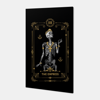 Thumbnail image of The Empress III Tarot Card Canvas, Live Heroes