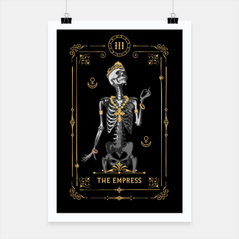 Thumbnail image of The Empress III Tarot Card Poster, Live Heroes