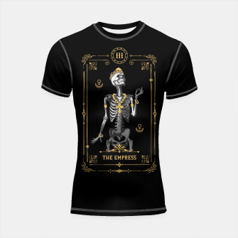 Thumbnail image of The Empress III Tarot Card Shortsleeve rashguard, Live Heroes