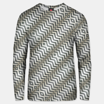 Thumbnail image of Diagonal Striped Print Pattern Cotton sweater, Live Heroes