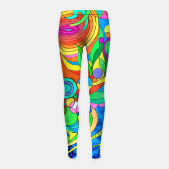 Thumbnail image of Love fantasy Leggings para niña, Live Heroes