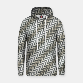 Thumbnail image of Diagonal Striped Print Pattern Cotton hoodie, Live Heroes
