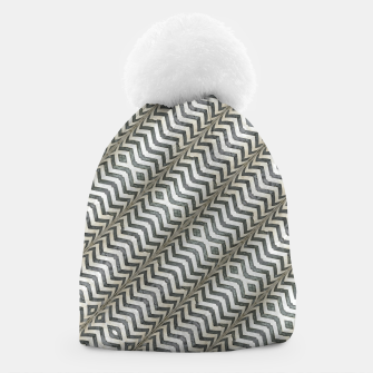 Thumbnail image of Diagonal Striped Print Pattern Beanie, Live Heroes