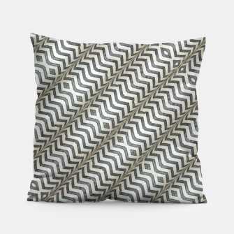 Thumbnail image of Diagonal Striped Print Pattern Pillow, Live Heroes