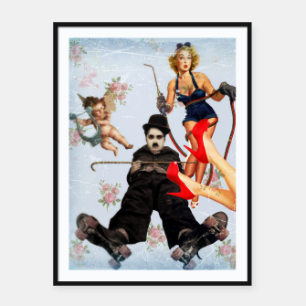 Thumbnail image of Charlie's Angels (2) Framed poster, Live Heroes