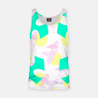 Thumbnail image of Flamingo vibrant pattern Tank Top, Live Heroes