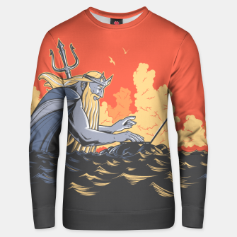 Thumbnail image of Poseidon programming Cotton sweater, Live Heroes