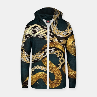 Thumbnail image of Balance Cotton zip up hoodie, Live Heroes