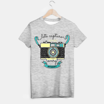 Miniatur Lets capture every moment T-shirt regular, Live Heroes