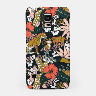 Thumbnail image of Animal print dark jungle Carcasa por Samsung, Live Heroes