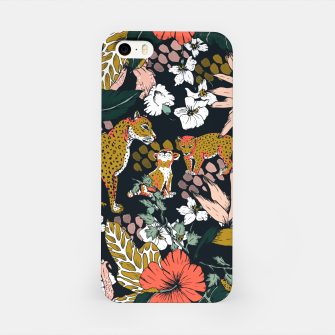 Thumbnail image of Animal print dark jungle Carcasa por Iphone, Live Heroes