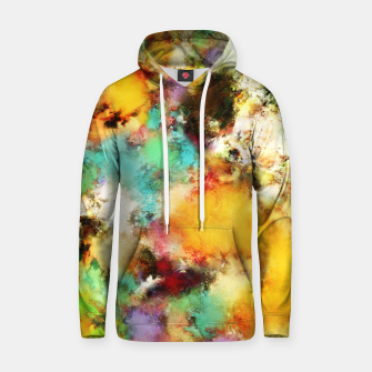 Thumbnail image of A distorted impact Cotton hoodie, Live Heroes