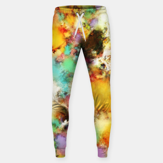 Thumbnail image of A distorted impact Cotton sweatpants, Live Heroes
