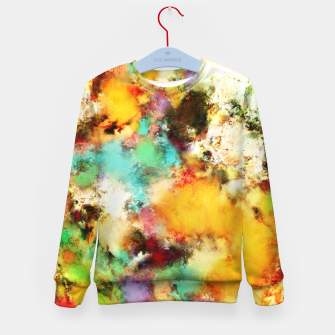 Thumbnail image of A distorted impact Kid's sweater, Live Heroes