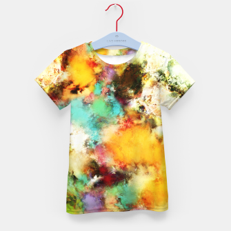 Thumbnail image of A distorted impact Kid's t-shirt, Live Heroes