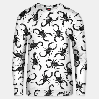 Thumbnail image of Scorpion Swarm Cotton sweater, Live Heroes