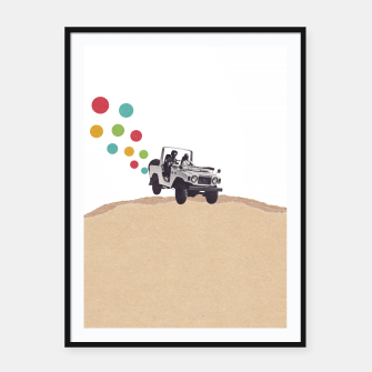 Thumbnail image of Off Road Framed poster, Live Heroes