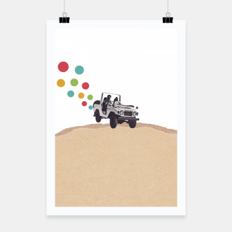 Thumbnail image of Off Road Poster, Live Heroes