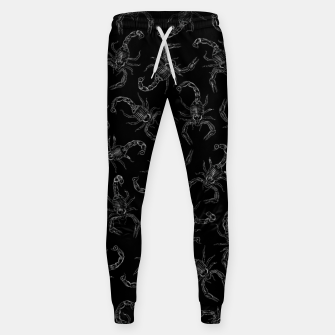 Thumbnail image of Scorpion Swarm II Cotton sweatpants, Live Heroes