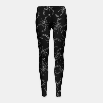 Thumbnail image of Scorpion Swarm II Girl's leggings, Live Heroes