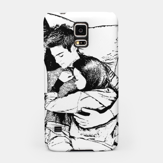 Thumbnail image of Peter kavinsky and lara jean Samsung Case, Live Heroes