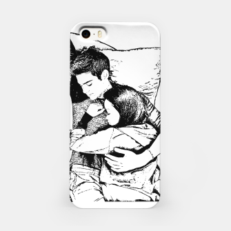 Thumbnail image of Peter kavinsky and lara jean iPhone Case, Live Heroes
