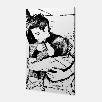 Thumbnail image of Peter kavinsky and lara jean Canvas, Live Heroes
