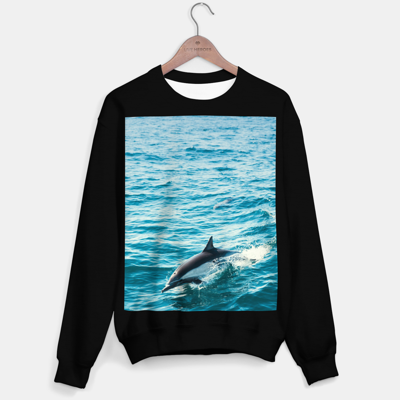 Image of The Flipper Sweater regular - Live Heroes