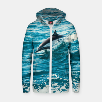 Thumbnail image of The Flipper Cotton zip up hoodie, Live Heroes