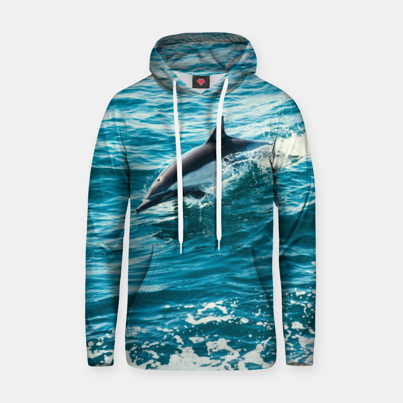 Image of The Flipper Cotton hoodie - Live Heroes