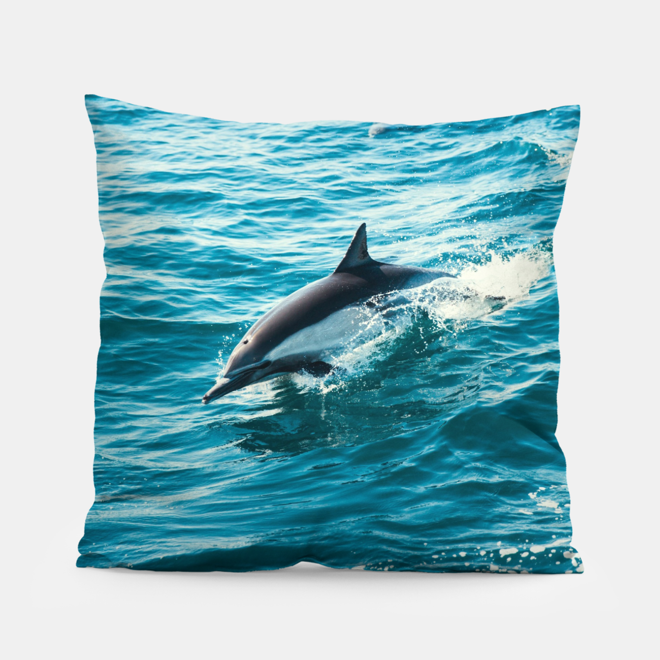 Image of The Flipper Pillow - Live Heroes