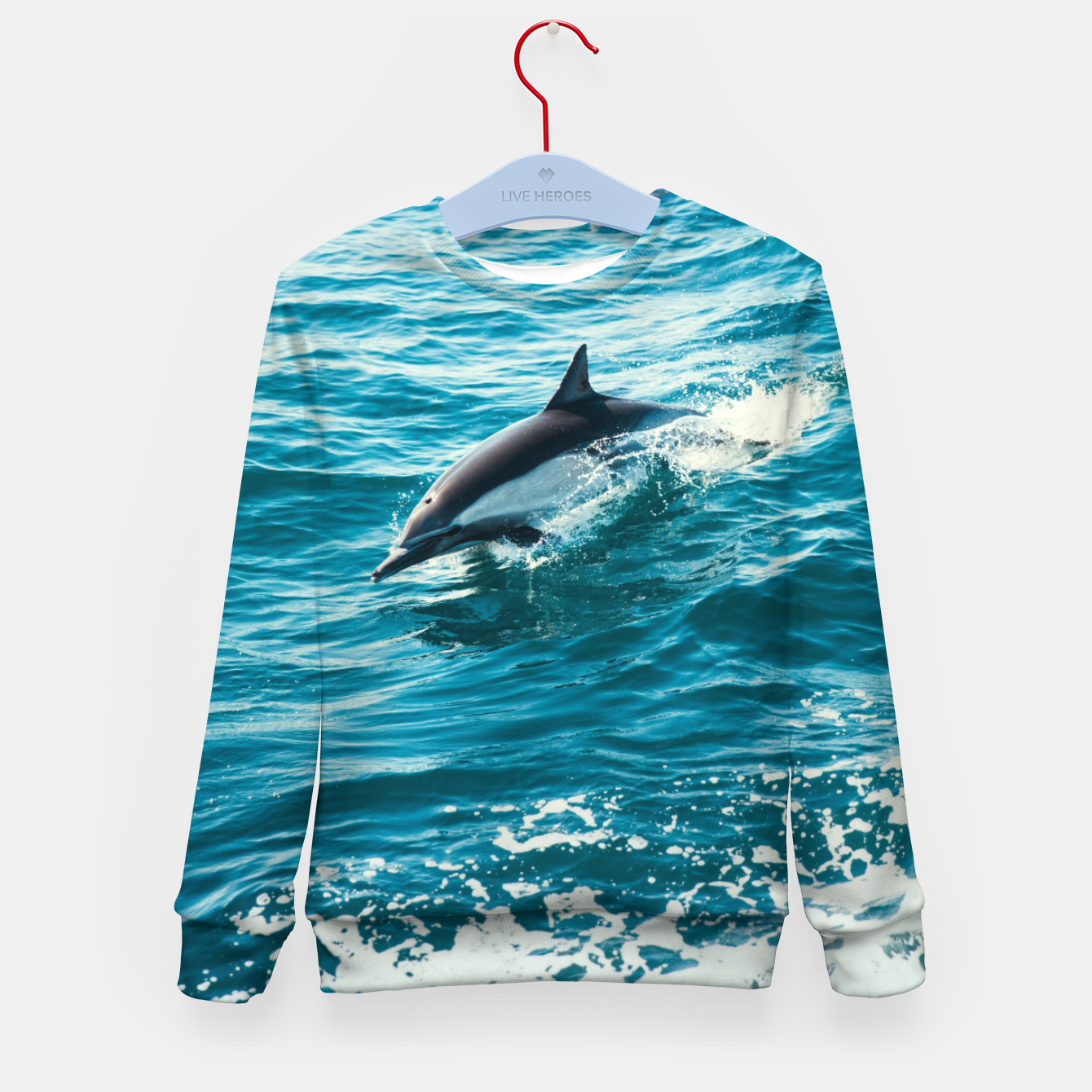 Image of The Flipper Kid's sweater - Live Heroes