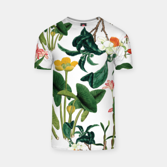 Thumbnail image of Vintage flowers white T-shirt, Live Heroes