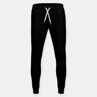 Thumbnail image of Define Black Cotton sweatpants, Live Heroes