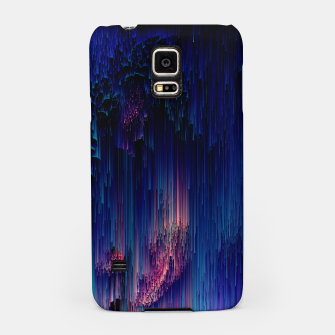 Thumbnail image of Glitch of Fantasy - Abstract Glitchy Pixel Art Samsung Case, Live Heroes