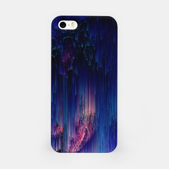 Thumbnail image of Glitch of Fantasy - Abstract Glitchy Pixel Art iPhone Case, Live Heroes