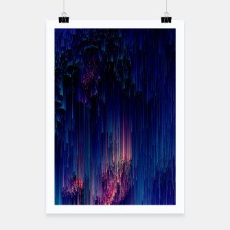 Thumbnail image of Glitch of Fantasy - Abstract Glitchy Pixel Art Poster, Live Heroes