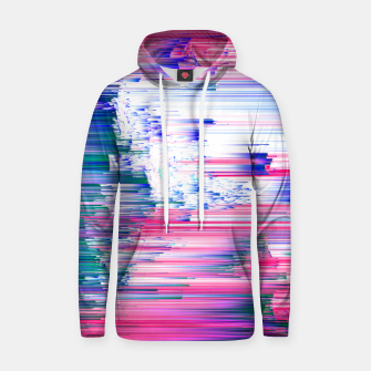 Thumbnail image of Pastel 90s Glitch - Abstract Pixel Art Cotton hoodie, Live Heroes