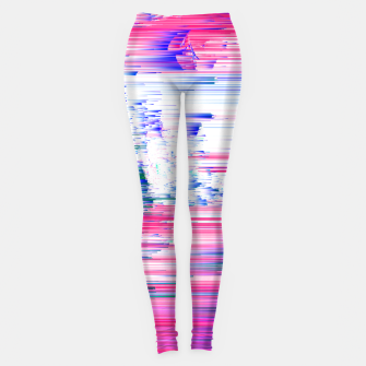 Miniaturka Pastel 90s Glitch - Abstract Pixel Art Leggings, Live Heroes