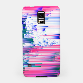 Miniatur Pastel 90s Glitch - Abstract Pixel Art Samsung Case, Live Heroes